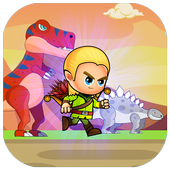 Dinosaurs jungle Runner icon