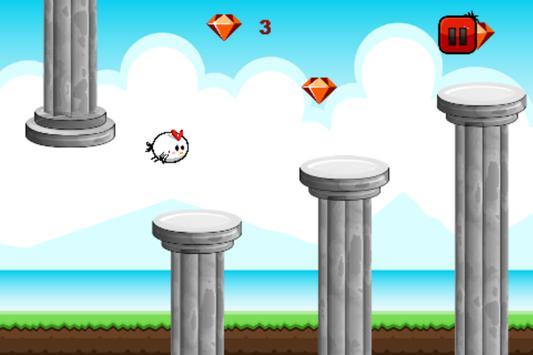 Flappy Ceasarian Bird poster