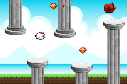 Flappy Ceasarian Bird apk screenshot