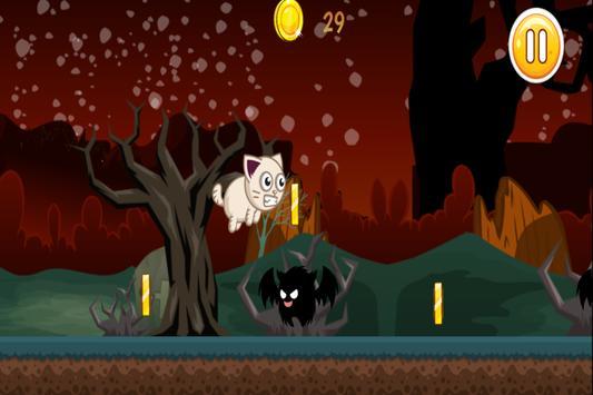 Scaredy Cat: Halloween Dash apk screenshot