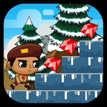 Snowy Boy Run apk screenshot
