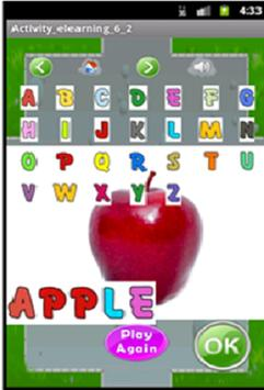 Android Alphabets Learning screenshot 2