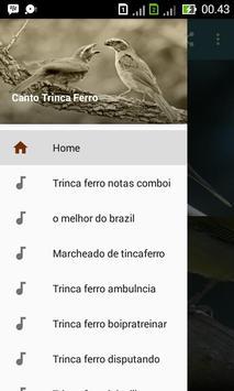 Canto Trinca Ferro poster