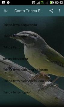 Canto Trinca Ferro apk screenshot