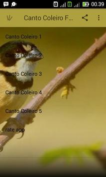 Canto Coleiro Fibra Campeao apk screenshot