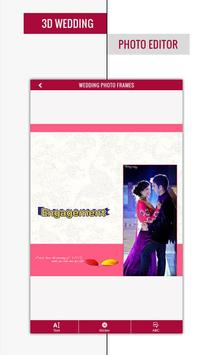 3D Wedding Photo Editor poster