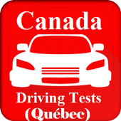 Canadian Driving Tests (Québec) Free icon