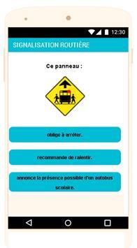Québec Permis de conduire Examen En Français screenshot 1