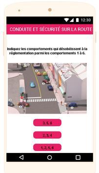 Québec Permis de conduire Examen En Français screenshot 3