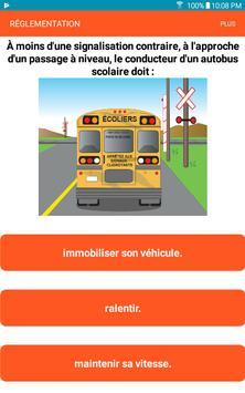 Québec Permis de conduire Examen En Français screenshot 5
