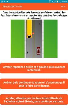 Québec Permis de conduire Examen En Français screenshot 7