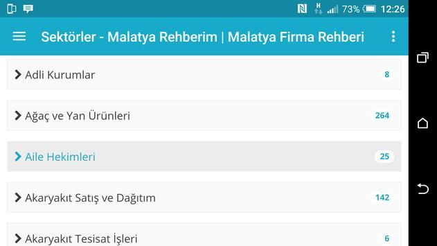 Malatya Rehberim screenshot 10
