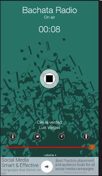 Bachata Radio Dominicana screenshot 1