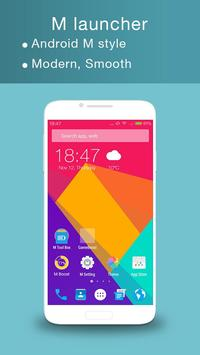M Launcher -Android M Launcher poster