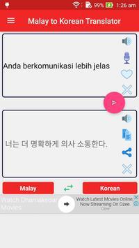 Malay Korean Translator poster