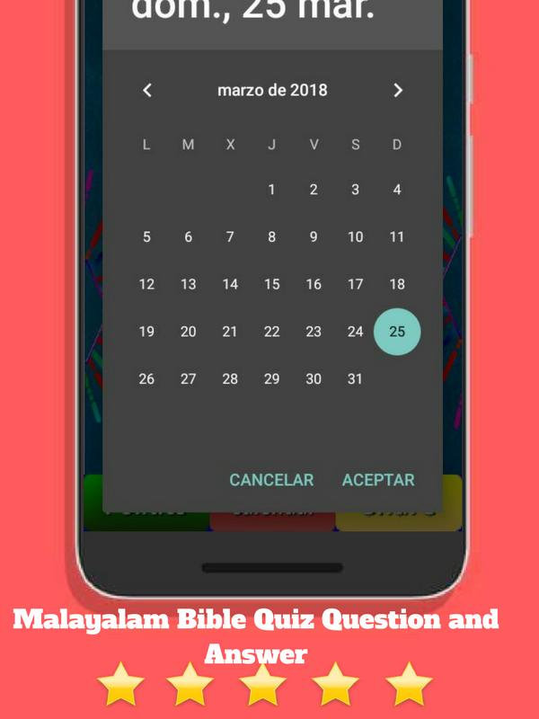 malayalam bible quiz question and answer trivia G for