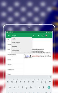 English to Malay Dictionary apk screenshot