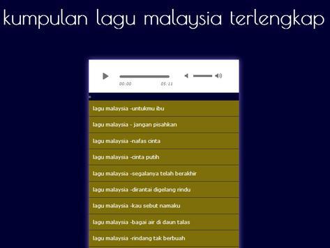 lagu malaysia poster
