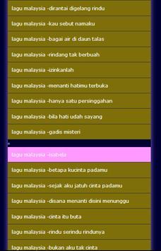 lagu malaysia screenshot 1