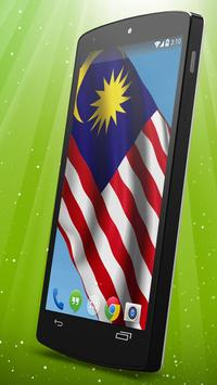 Malaysian Flag Live Wallpaper poster