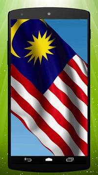 Malaysian Flag Live Wallpaper apk screenshot