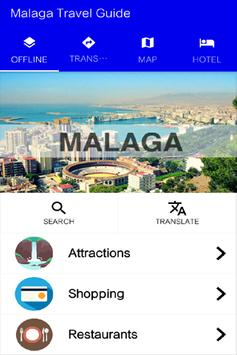 Malaga Travel Guide poster