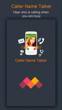 Caller Name Talker poster