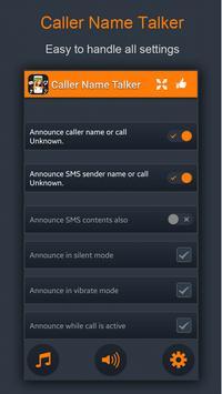 Caller Name Talker apk screenshot