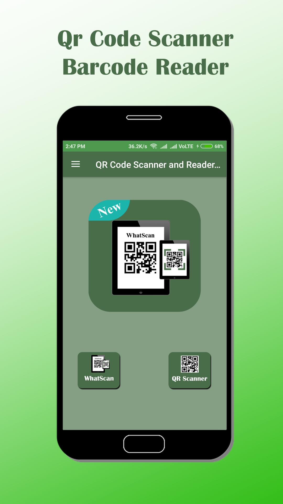 QR Code Scanner and Reader - WhatScan for Android - APK Download