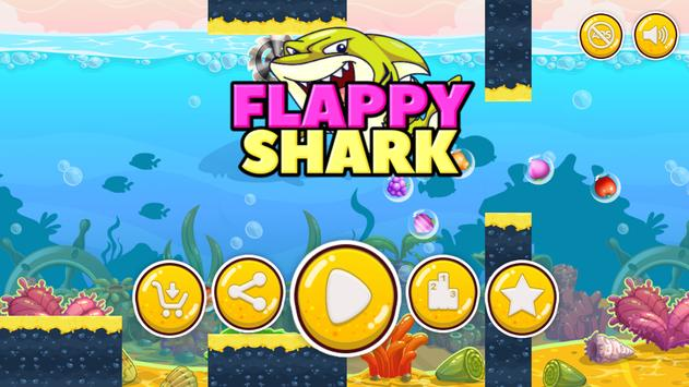 Flappy Shark poster