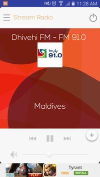 Maldives Online Radio poster