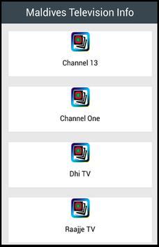Maldives Television Info poster