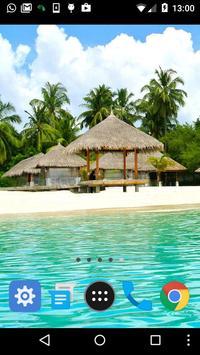 maldives wallpaper apk screenshot