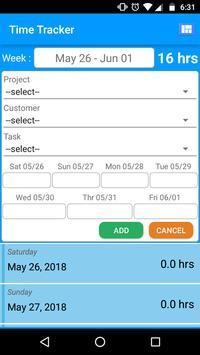 Mobile Aspects LeaveManagement screenshot 14