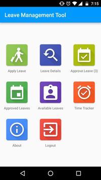 Mobile Aspects LeaveManagement screenshot 1