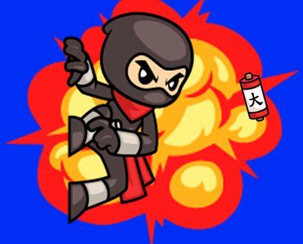 Ninjas are human too poster