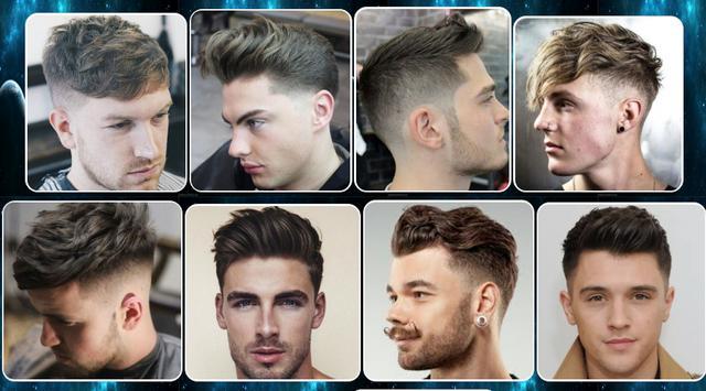 male hair styling design screenshot 1