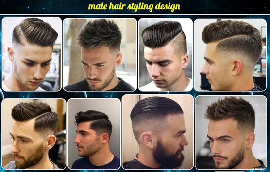 male hair styling design screenshot 4