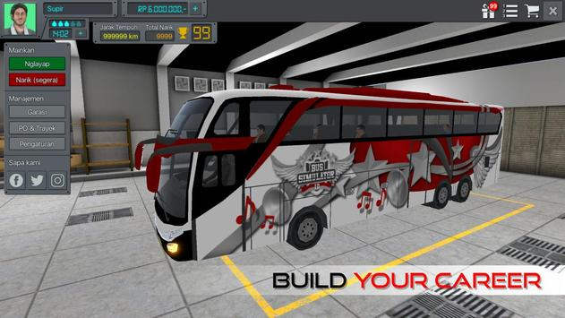 Bus Simulator Indonesia apk स्क्रीनशॉट