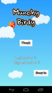 Munchy Birdy poster