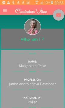 Malgorzata Cejko CV poster