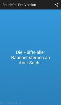 Rauchfrei Pro Version poster