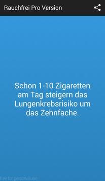 Rauchfrei Pro Version screenshot 1