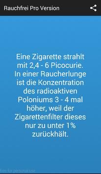 Rauchfrei Pro Version screenshot 3