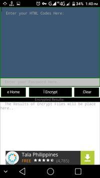 Html Codes Encrypter screenshot 2