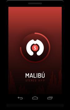 Malibú Stereo App poster