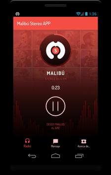 Malibú Stereo App screenshot 1