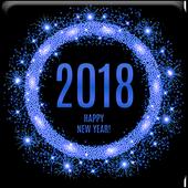 افضل رسائل راس السنة الميلادية الجديدة 2018 icon