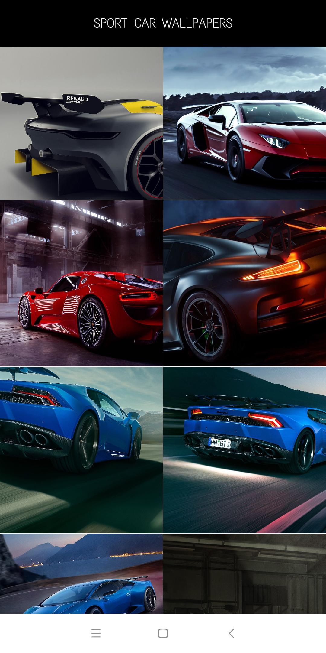Dark Sport Cars HD Wallpaper Offline for Android - APK ...
