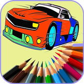 Games Coloring New Sport Cars icon